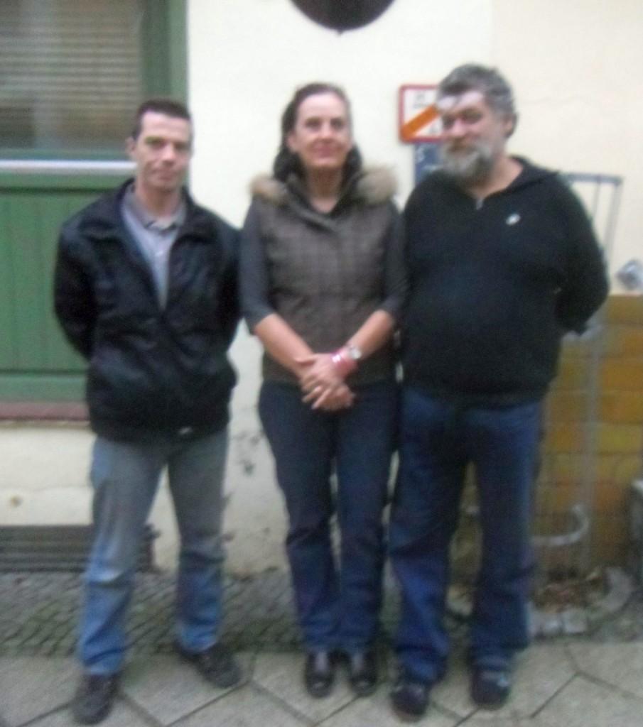 Mitglieder des Sprecherrates: Thomas Füchtner, Dr. Monika Kulas, Thomas Spelsberg